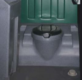 Flushable Portable Toilet MD